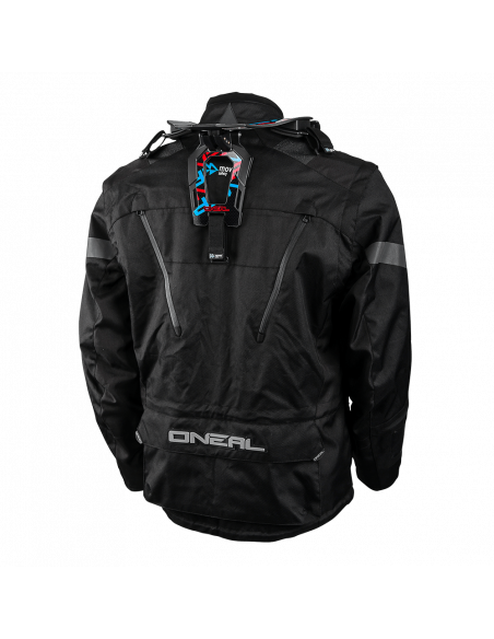 ONeal BAJA Black Motorcycle Jacket Back Pakisan