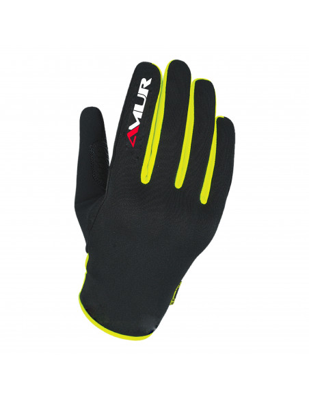 AMUR RW1 Black Yellow Glove