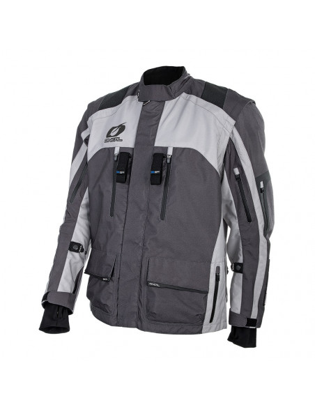 ONeal BAJA Grey Motorcycle Jacket