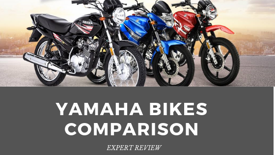 Yamaha Bike Comparison Between YBR 125G Vs YBR125 Vs YB125Z